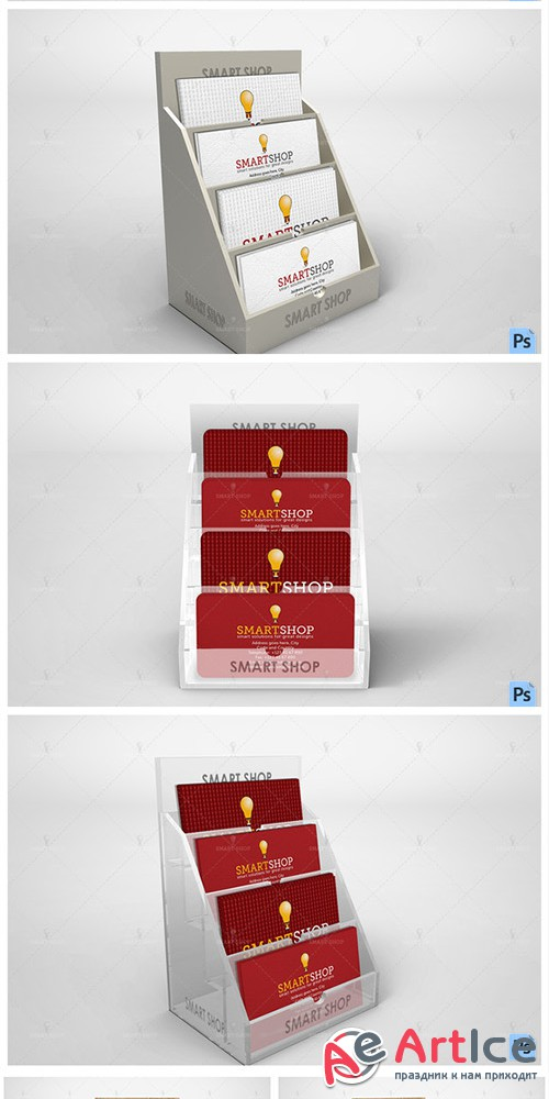 Business Card Holder Mockup - Creativemarket 559002
