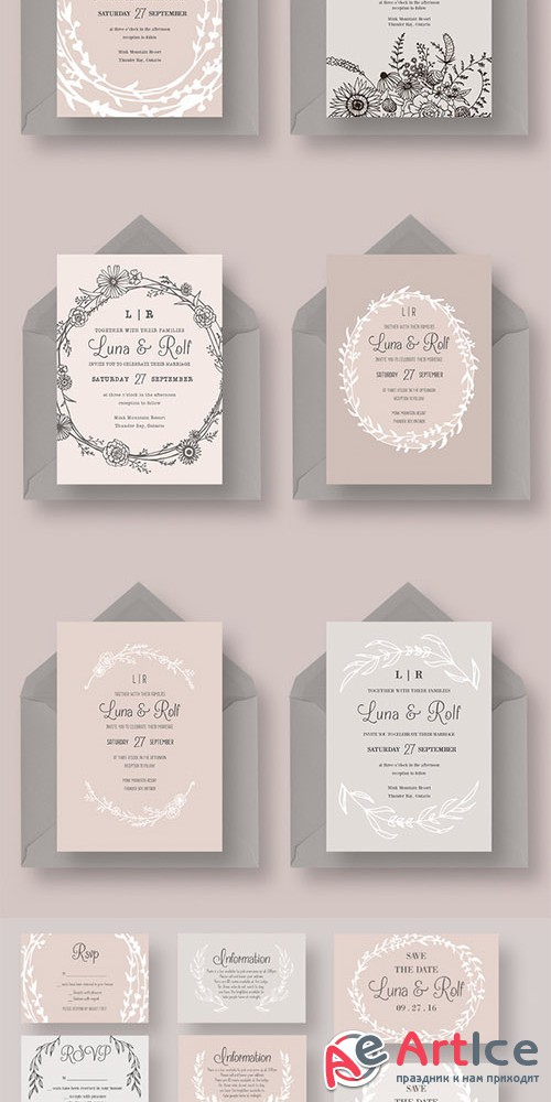 The Dreamy Wedding Collection - Creativemarket 330040