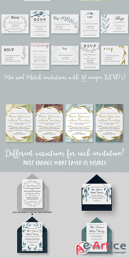 The ULTIMATE Wedding Collection - Creativemarket 279377