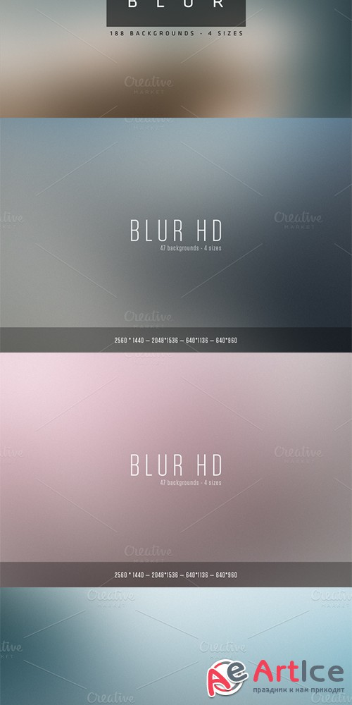 Blur - Blurred Backgrounds - Creativemarket 8614