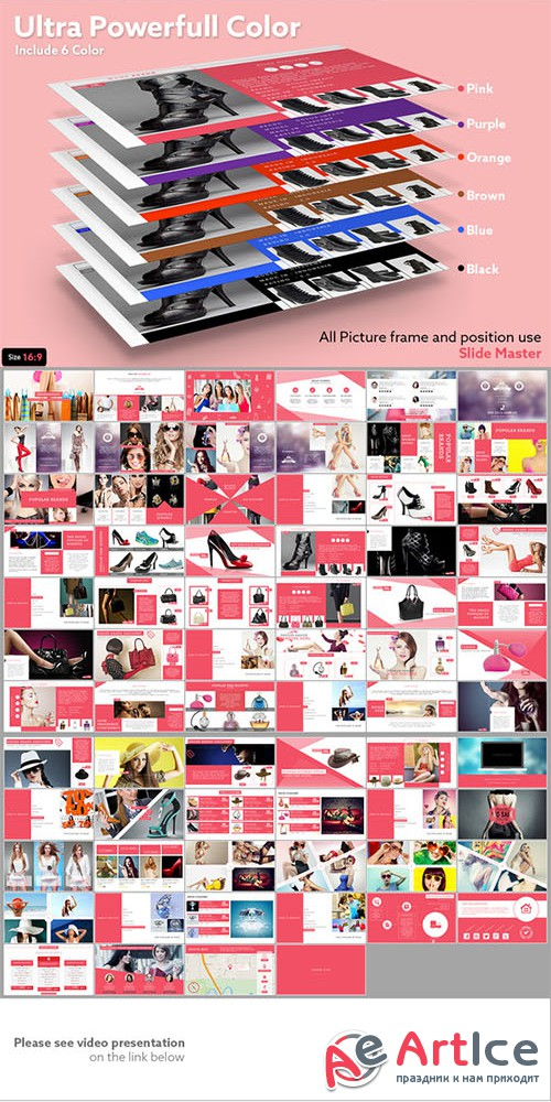 SHOPAHOLIC Simply Powerpoint Catalog - Creativemarket 219782