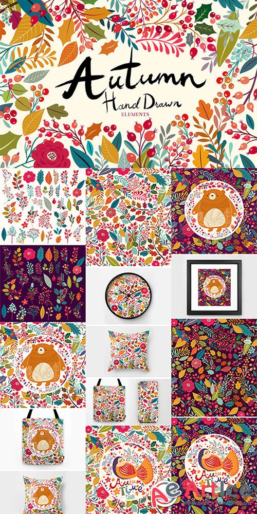 Autumn bloom - Creativemarket 363703