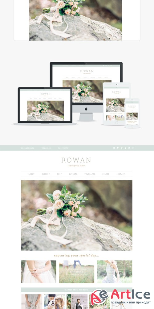 Rowan v1.1.0 - Wordpress Theme - Creativemarket 366065