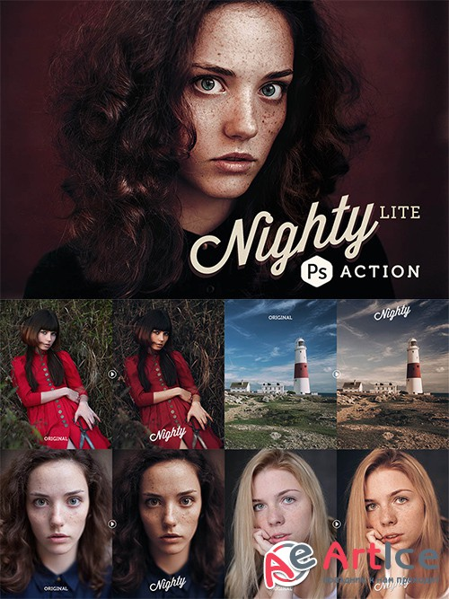 Nighty Lite Photoshop Actions