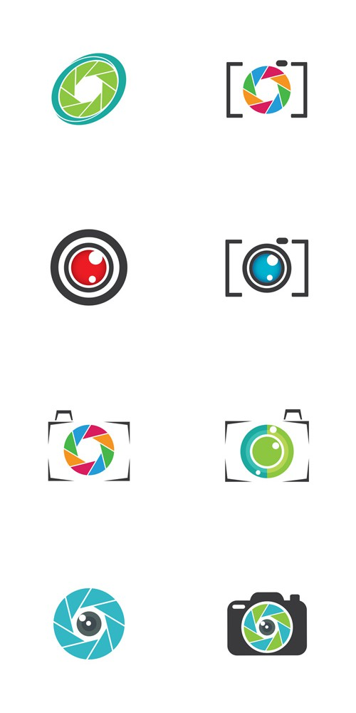 Vector Photography Logos