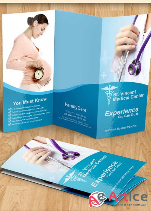 Medical Brochure PSD V2 Template