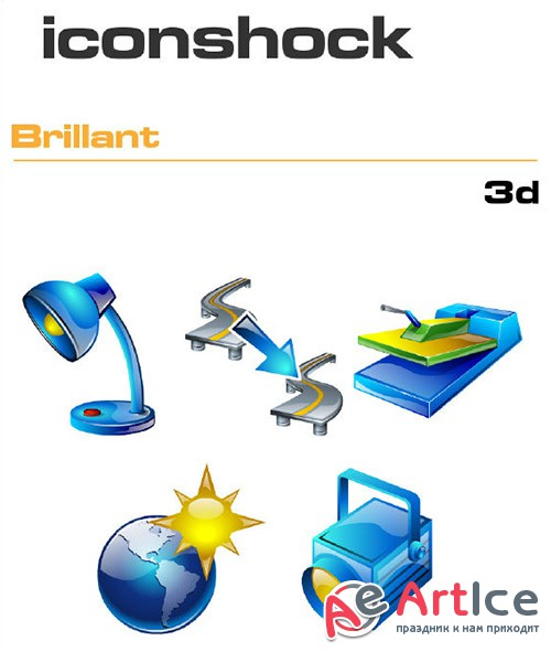 Iconshock Pack - Brillant 3d