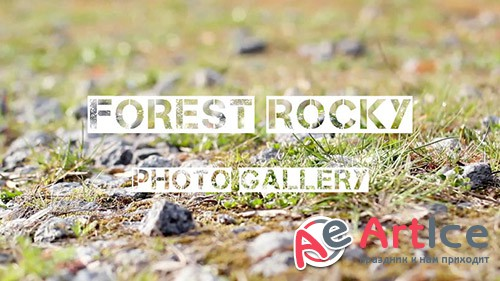 Forest Rocky Photo Gallery - Sony Vegas Template