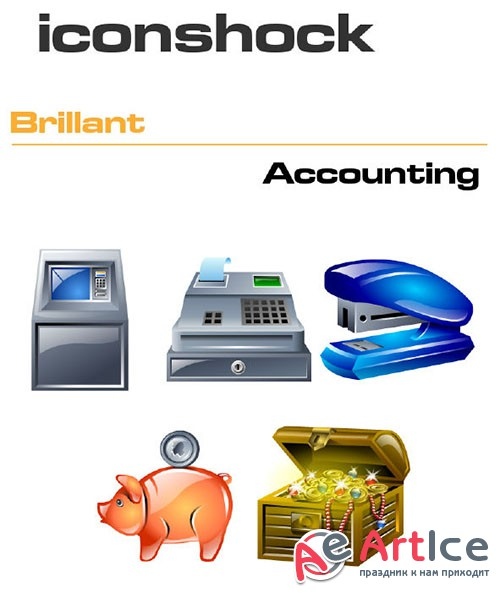 Iconshock Pack - Brillant Accounting