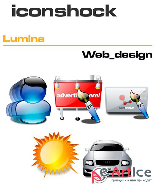 IconShock Pack - Lumina Web Design