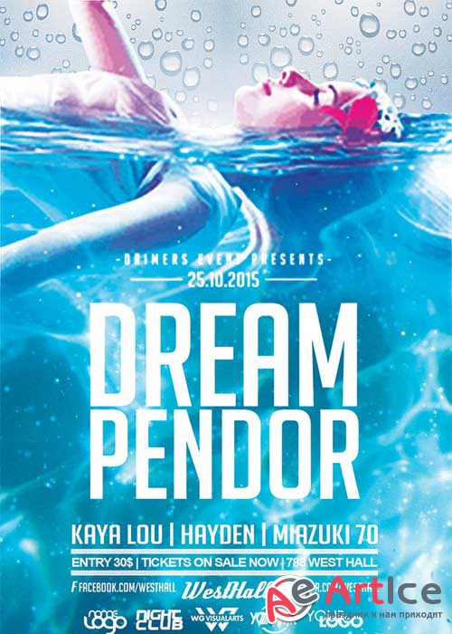 Dream Pandor V2 Flyer Template