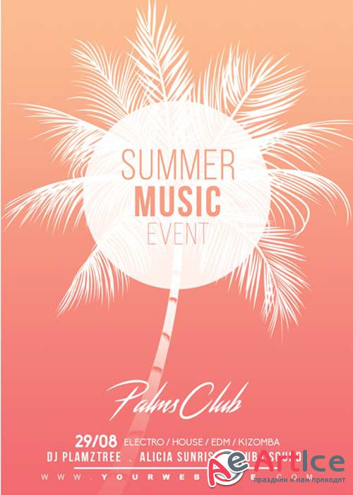 Summer Music Event V22 Flyer Template