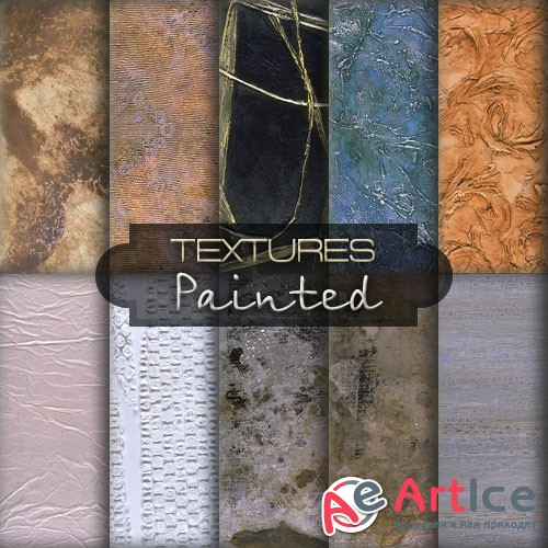 Photo Libraries - Painted Textures