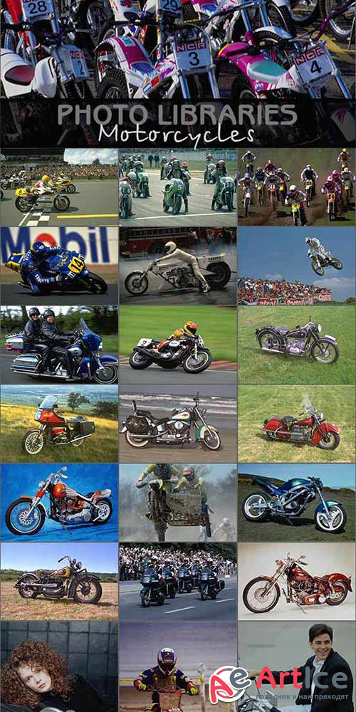 Photo Libraries - Motorcycles