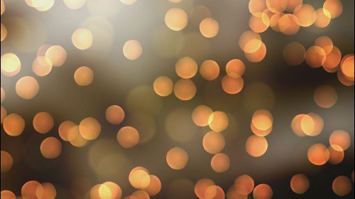 Golden light bokeh 4k