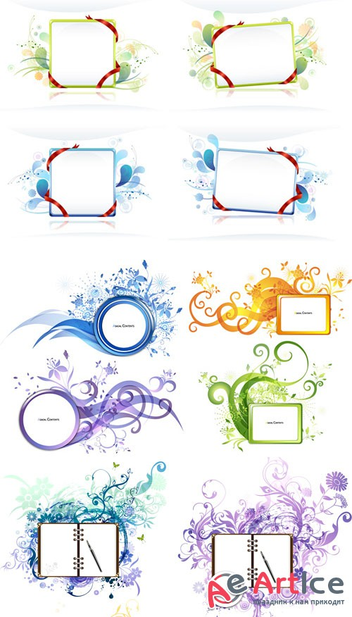Vectorial beautiful themes
