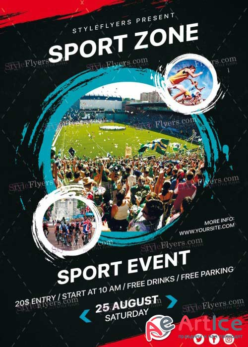 Sport Zone v27 PSD Flyer