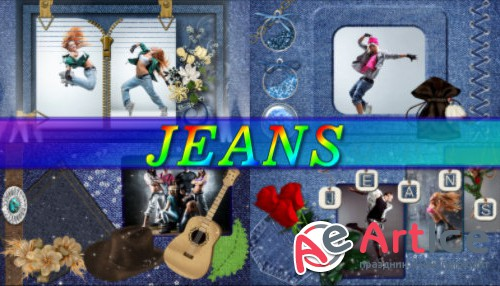 Jeans - project for ProShow Producer