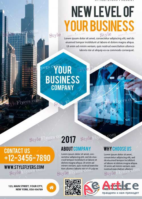 Business V29 PSD Flyer Template