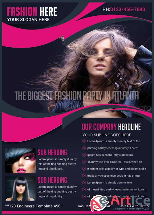 Fashion flyer V28 Flyer Template