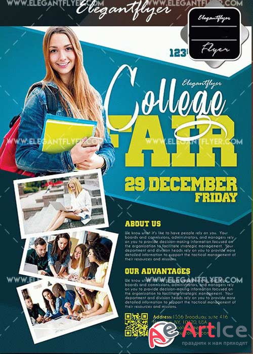 College Fair V1 Flyer Template