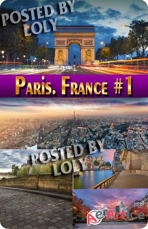 Paris. France #1 - Stock Photo