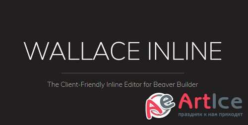 Wallace Inline v1.1.1 - Front-end editor for Beaver Builder