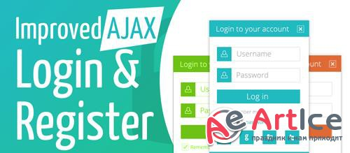 Offlajn - Improved AJAX Login & Register v2.4.166 - Joomla Extension