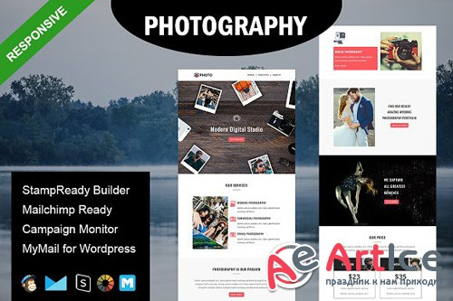 Photography - Email Template - CM 1590128