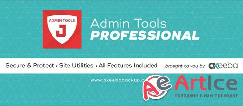 Akeeba - Admin Tools Pro v5.1.2 - Security Component for Joomla