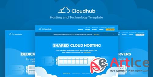 ThemeForest - Cloudhub v1.3 - Hosting and Technology HTML Template - 21072525