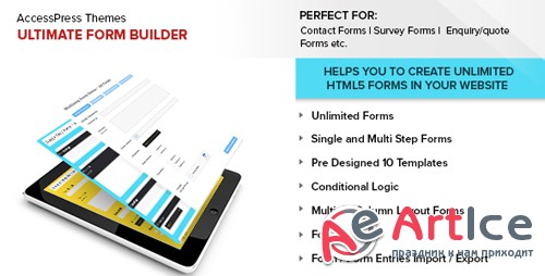 CodeCanyon - Ultimate Form Builder v1.1.8 - 14644208