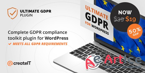 CodeCanyon - Ultimate GDPR v1.5.5 - Compliance Toolkit for WordPress - 21704224