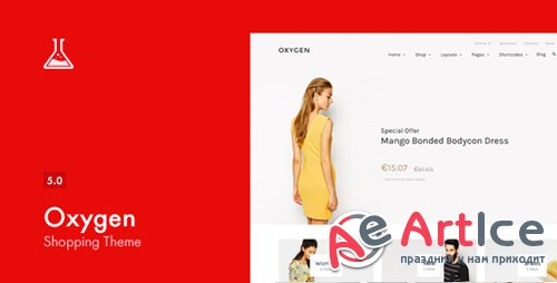 ThemeForest - Oxygen v5.0.2 - WooCommerce WordPress Theme - 7851484