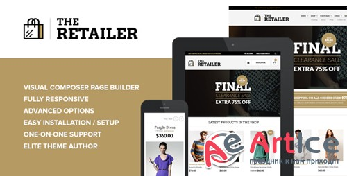 ThemeForest - The Retailer v2.8.3 - Premium WooCommerce Theme - 4287447