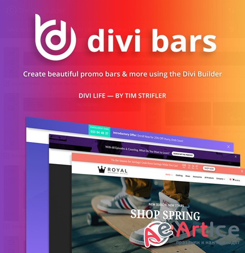 DiviLife - Divi Bars v1.1.1 - Plugin For Divi Theme