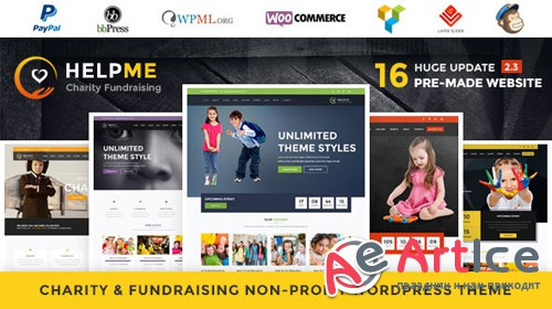 ThemeForest - HelpMe v2.5 - Nonprofit Charity WordPress Theme - 14143812