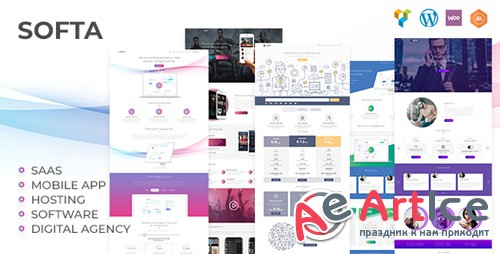 ThemeForest - Softa v1.2.2 - SaaS, Software & WebApp for SaaS/Software WordPress Theme - 20868500