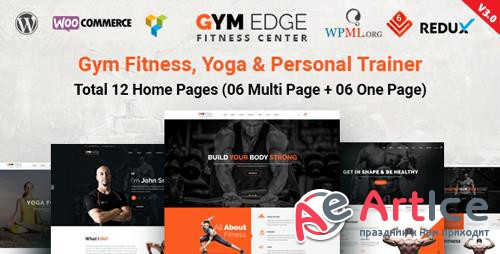 ThemeForest - Gym Edge v3.1 - Gym Fitness WordPress Theme - 19339465