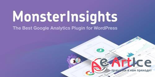 MonsterInsights Pro v7.0.18 - The Best Google Analytics Plugin for WordPress - NULLED + Add-Ons