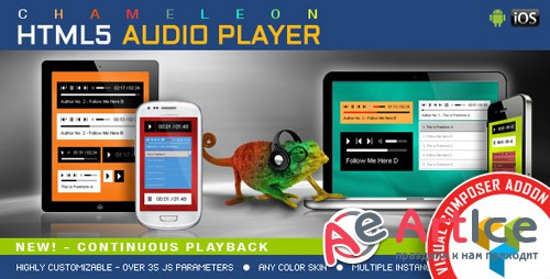 CodeCanyon - Visual Composer Addon - Chameleon Audio Player for WPBakery Page Builder v1.3.0 - 13116668