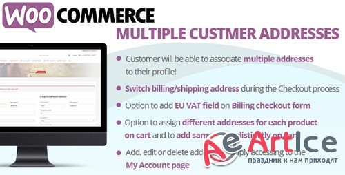 CodeCanyon - WooCommerce Multiple Customer Addresses v11.1 - 16127030