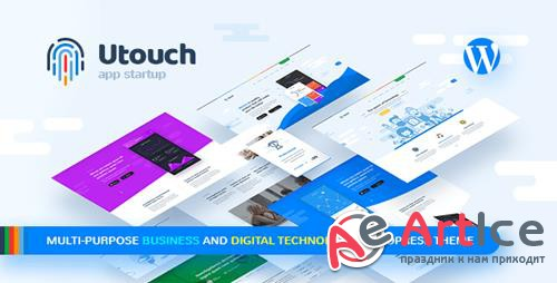 ThemeForest - Utouch Startup v2.0 - Multi-Purpose Business and Digital Technology WordPress Theme - 20654547