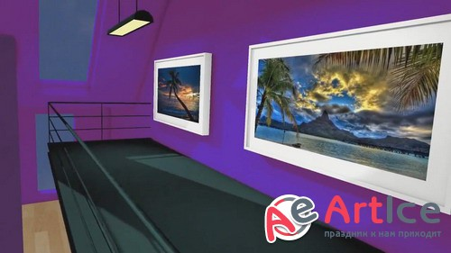 Проект ProShow Producer - 3D Vacation Gallery