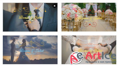 Проект ProShow Producer - Wedding Title Pack 4