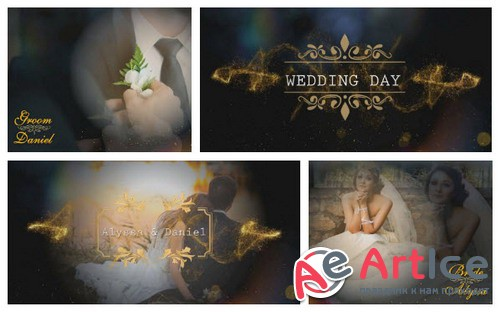 Проект ProShow Producer - Wedding Title Pack 6