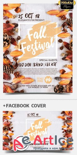 Fall Festival V15 2018 Flyer Template