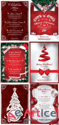 New Year Menu V1 3n1 Template