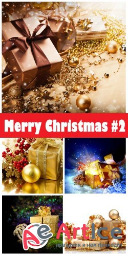 Merry Christmas 2018 #2 - Stock Photo