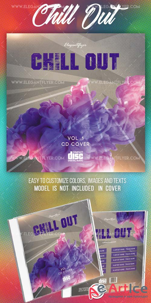 Chill Out Music V10 2018 Cd Cover